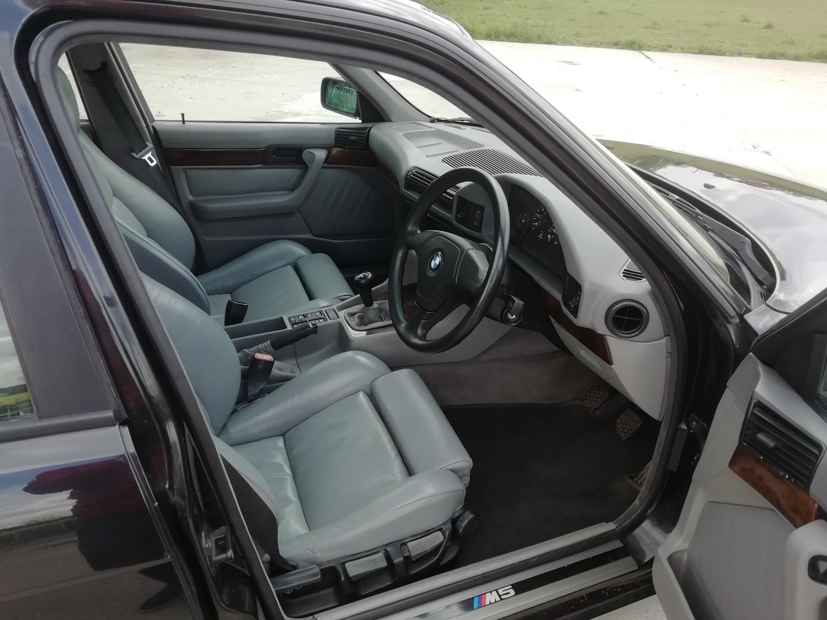 1996 UK RHD E34 M5 Touring For Sale (picture 5 of 6)