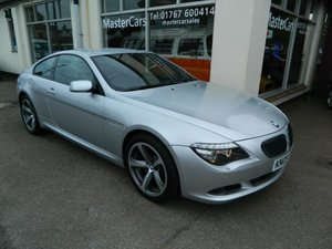 2009/09 BMW 6 Series 630i Sport 2dr Coupe 82005 miles FSH For Sale