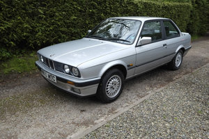 1990 H BMW E30 318i Lux 2 Door - One Owner For Sale