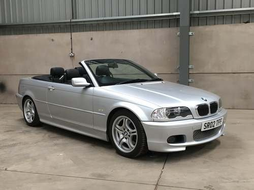 2002 BMW 330CI M Sport Convertible at Morris Leslie Auction  SOLD by Auction (picture 1 of 6)