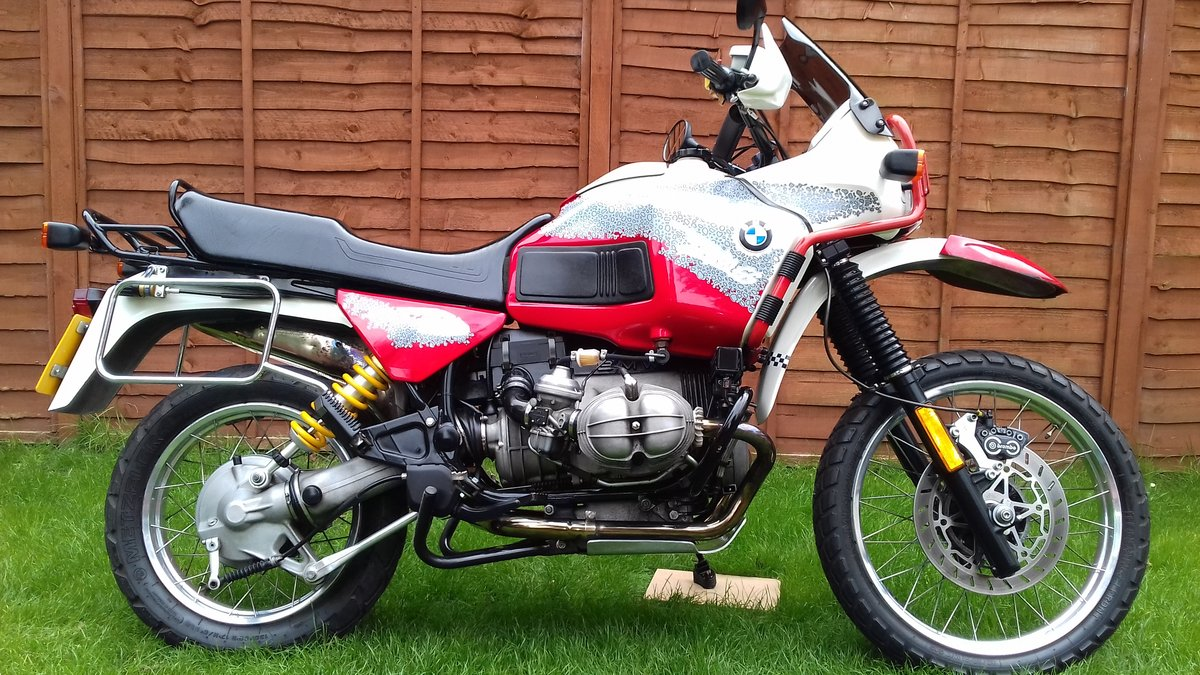 1993 Bmw R100GS pd For Sale (picture 2 of 6)
