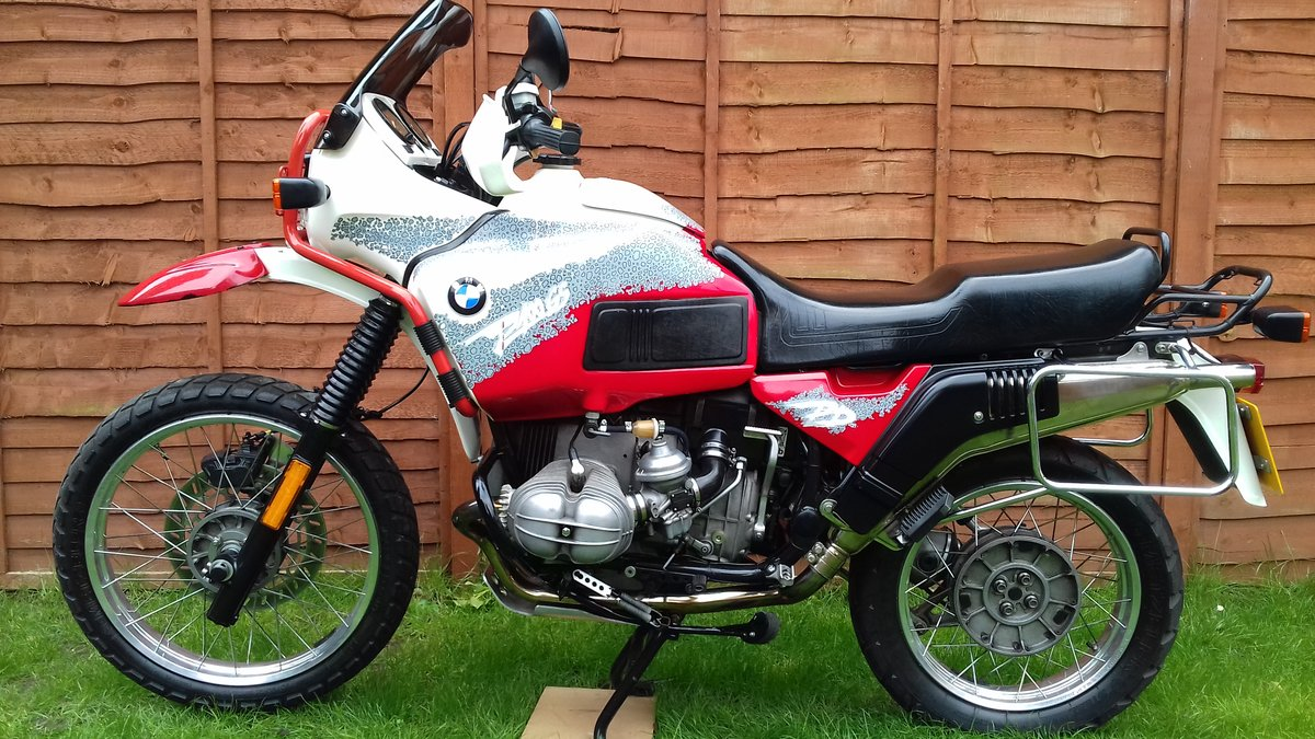 1993 Bmw R100GS pd For Sale (picture 3 of 6)