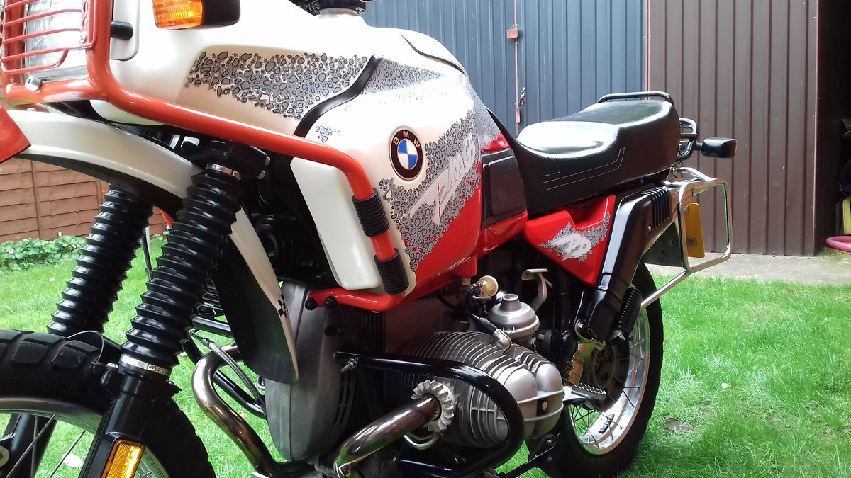 1993 Bmw R100GS pd For Sale (picture 5 of 6)