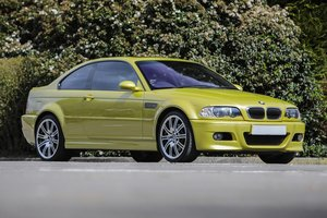 2013 2003 BMW E46 M3 - Manual with just 38,000 miles For Sale by Auction