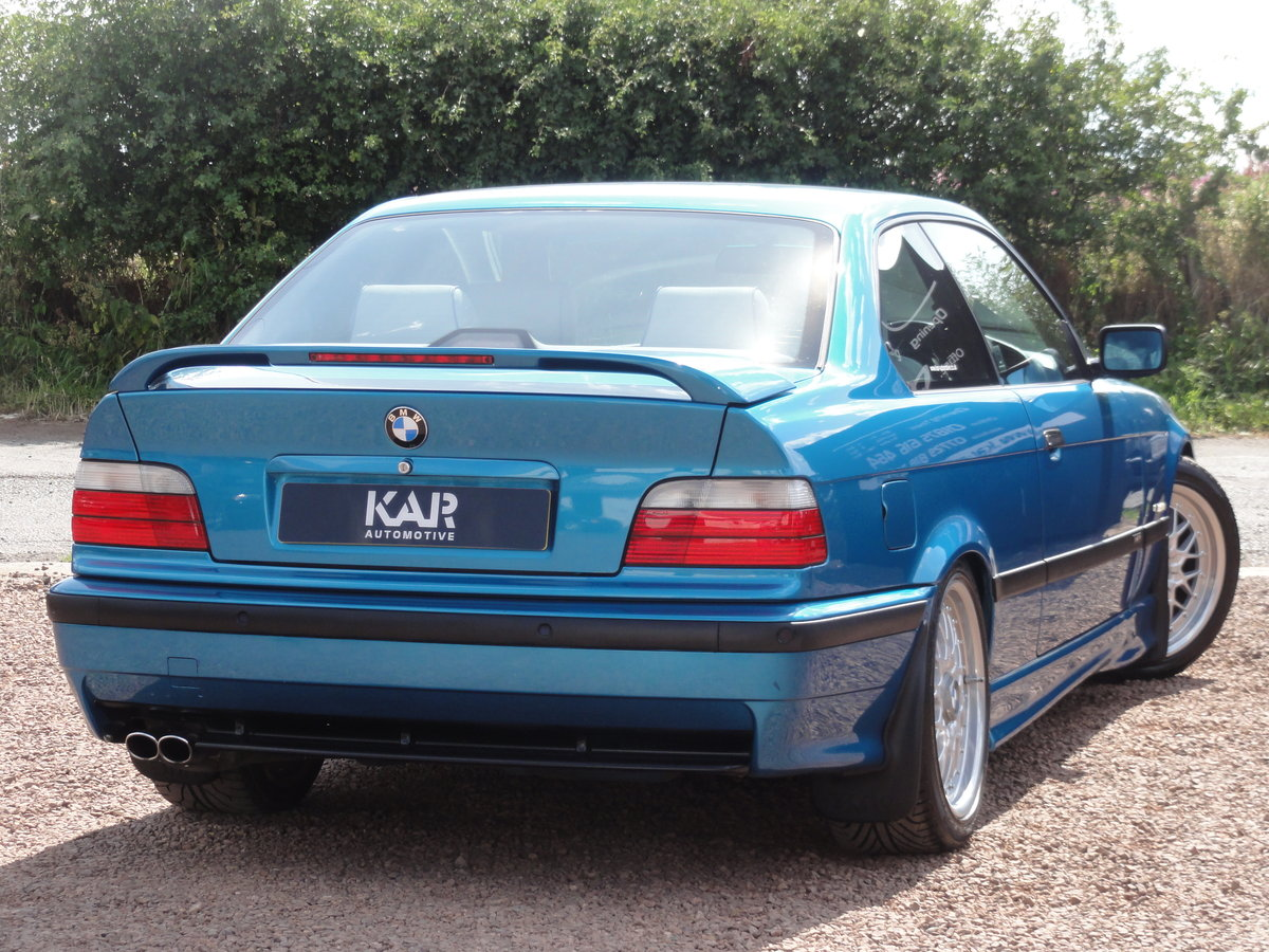 1999 BMW E36 328i Sport, Individual Atlantis Blue, Automatic, 81k For Sale (picture 3 of 6)