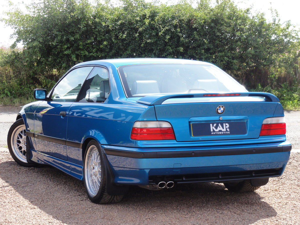 1999 BMW E36 328i Sport, Individual Atlantis Blue, Automatic, 81k For Sale (picture 4 of 6)