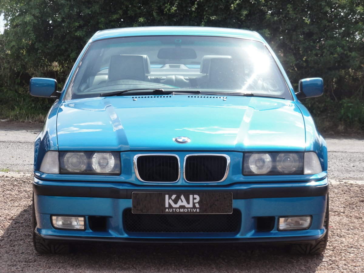 1999 BMW E36 328i Sport, Individual Atlantis Blue, Automatic, 81k For Sale (picture 5 of 6)