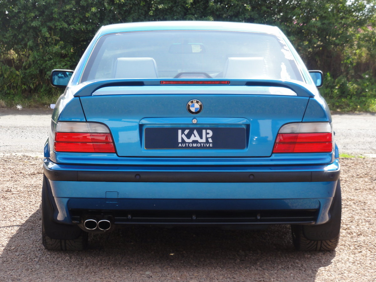 1999 BMW E36 328i Sport, Individual Atlantis Blue, Automatic, 81k For Sale (picture 6 of 6)