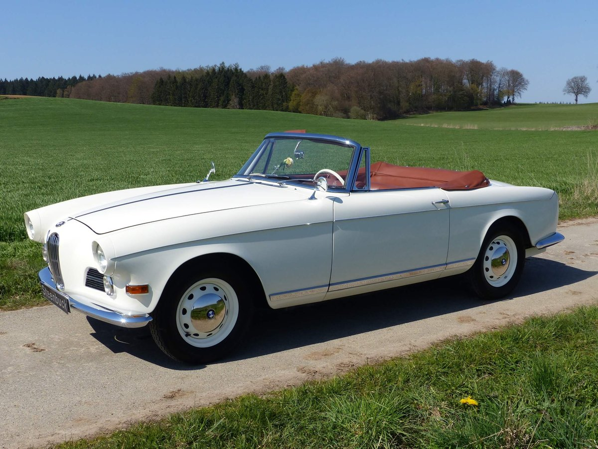 1958 Beautiful 503 Convertible in restored condition ! For Sale (picture 1 of 6)