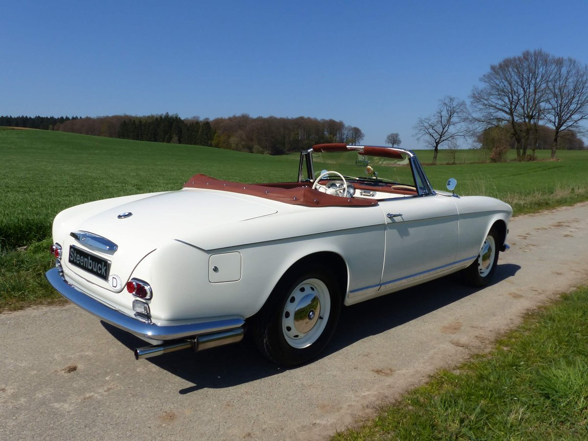 1958 Beautiful 503 Convertible in restored condition ! For Sale (picture 6 of 6)