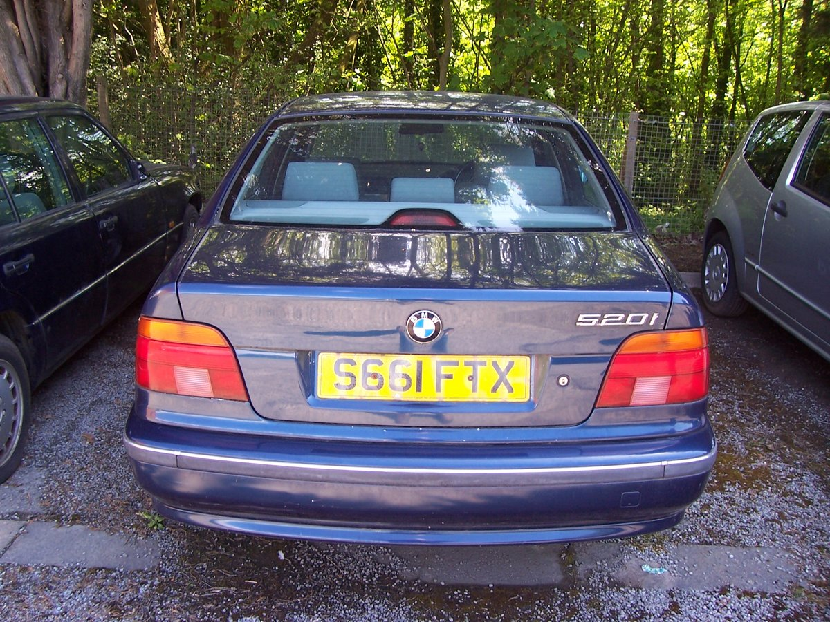 1998 BMW 520i 1988 FOR RENOVATION SOLD (picture 5 of 5)