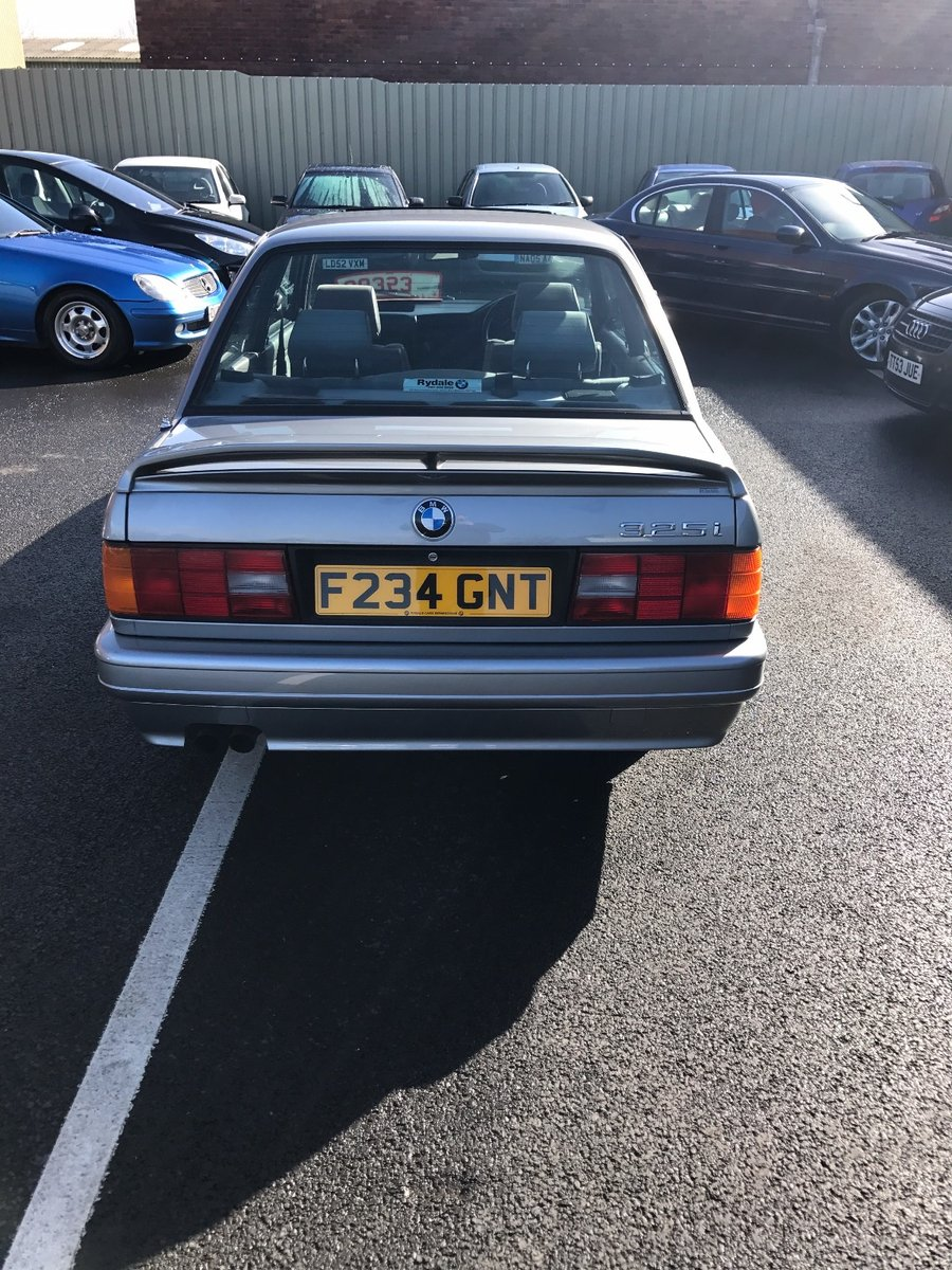 BMW 3 Series 1989 For Sale (picture 2 of 6)