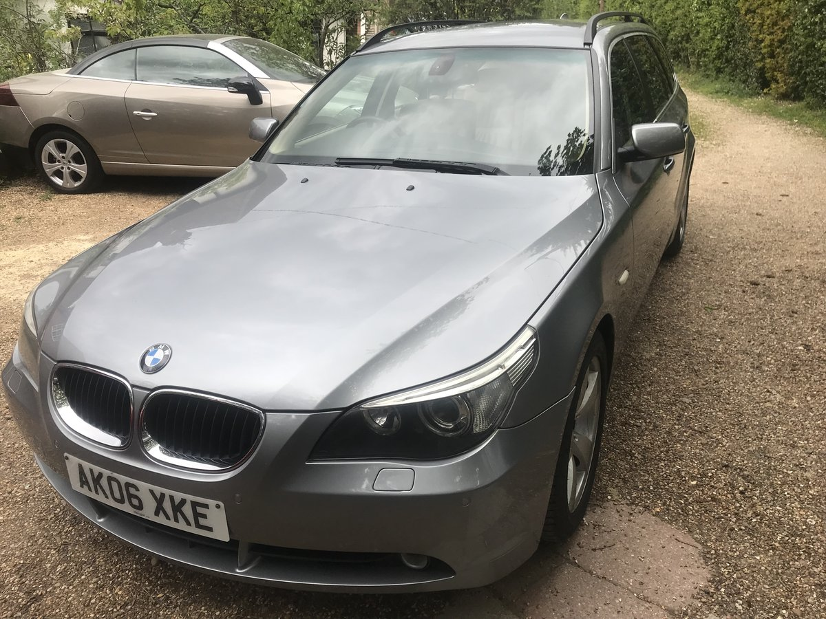2006 BMW 520 DIESEL ESTATE TOURING SE MODEL STUNNING CAR  For Sale (picture 2 of 5)