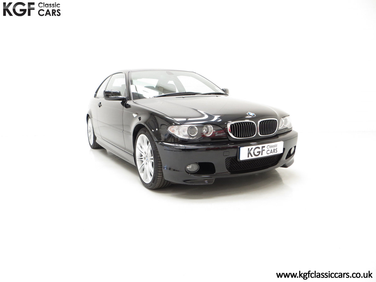 2003 A Pristine E46 BMW 330Ci M Sport Coupe with Just One Owner SOLD (picture 1 of 6)