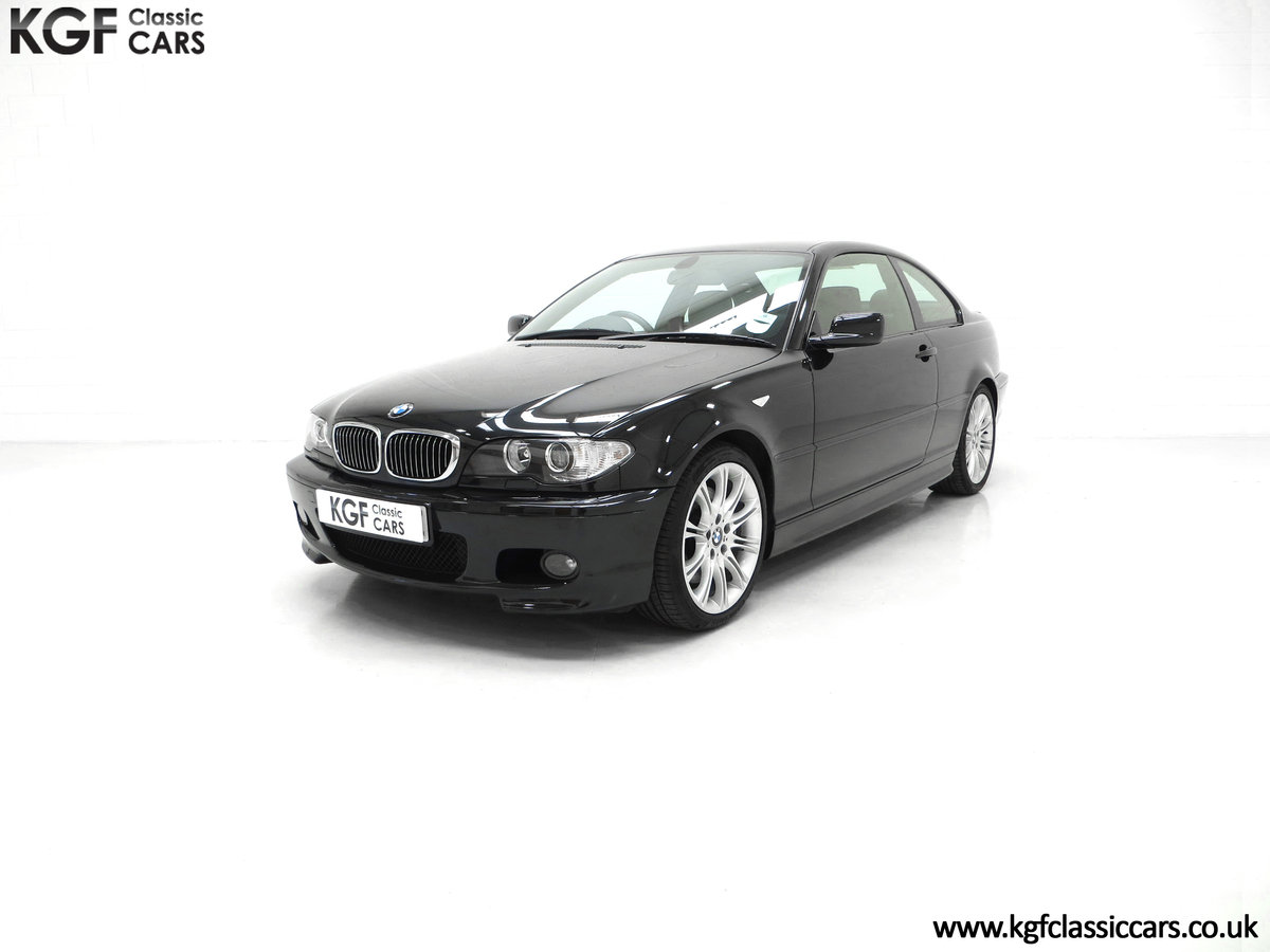 2003 A Pristine E46 BMW 330Ci M Sport Coupe with Just One Owner SOLD (picture 2 of 6)