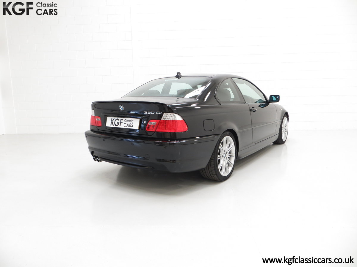 2003 A Pristine E46 BMW 330Ci M Sport Coupe with Just One Owner SOLD (picture 5 of 6)