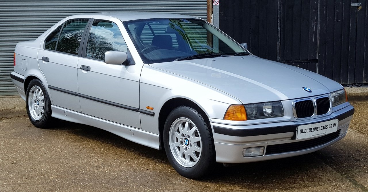 1998 Only 32,000 Miles - BMW E36 323 SE Auto - FSH - YEARS MOT For Sale (picture 1 of 6)