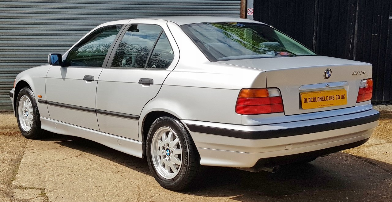 1998 Only 32,000 Miles - BMW E36 323 SE Auto - FSH - YEARS MOT For Sale (picture 3 of 6)