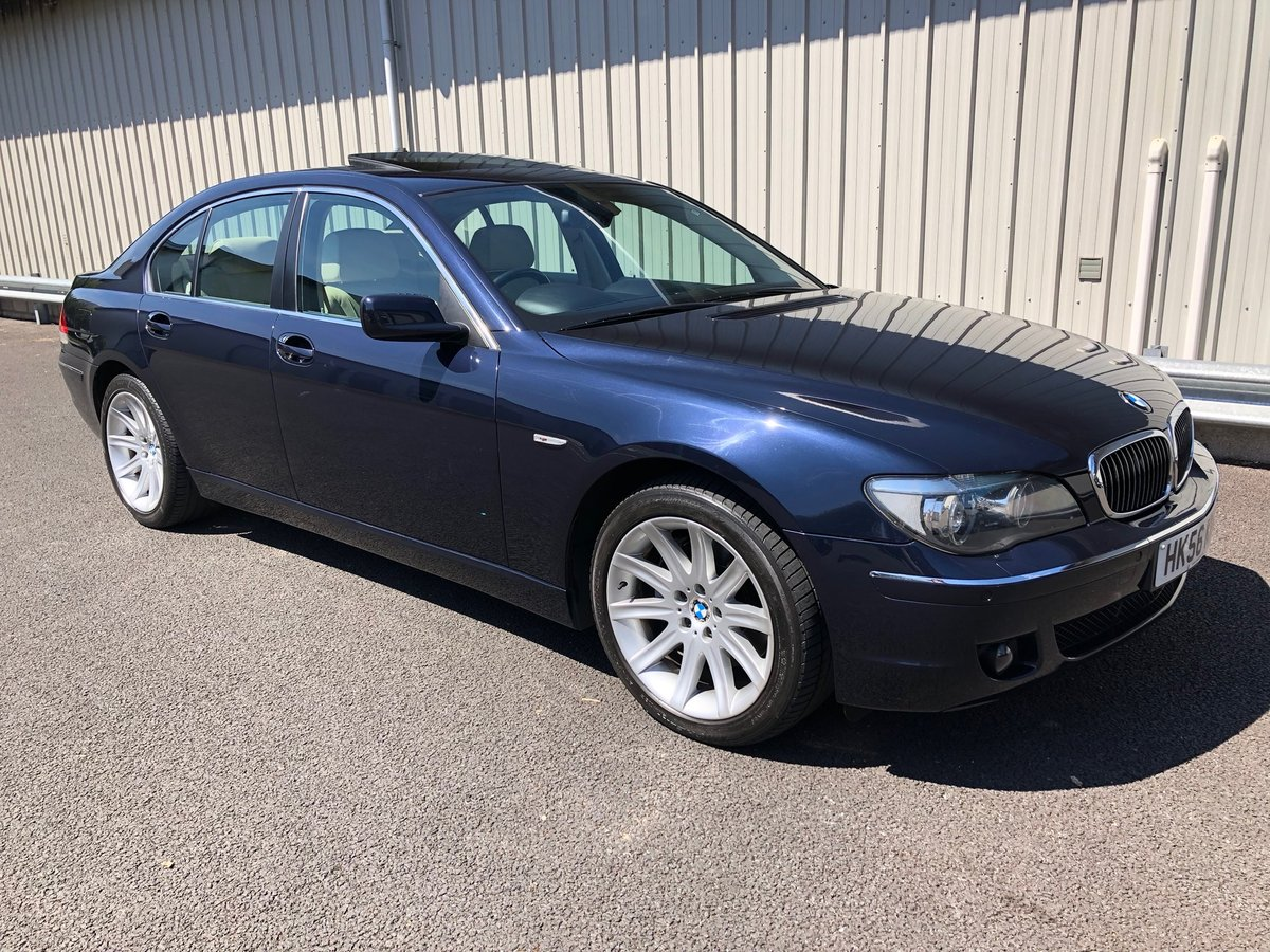 2006 56 BMW 7 SERIES 4 8 V8 750I AUTO 363 BHP SOLD | Car And