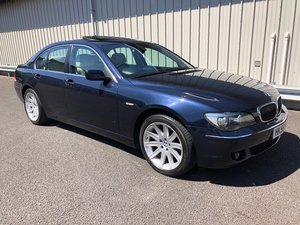 2006 56 BMW 7 SERIES 4.8 V8 750I AUTO 363 BHP SOLD