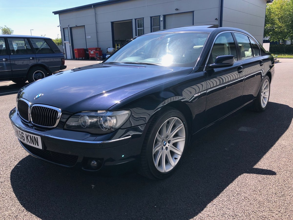 2006 56 BMW 7 SERIES 4.8 V8 750I AUTO 363 BHP SOLD (picture 4 of 6)