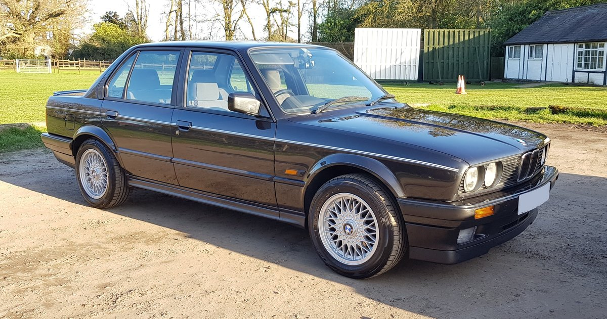 ***SOLD*** 1991 E30 'H' BMW 325i SE 4dr Auto For Sale (picture 1 of 6)