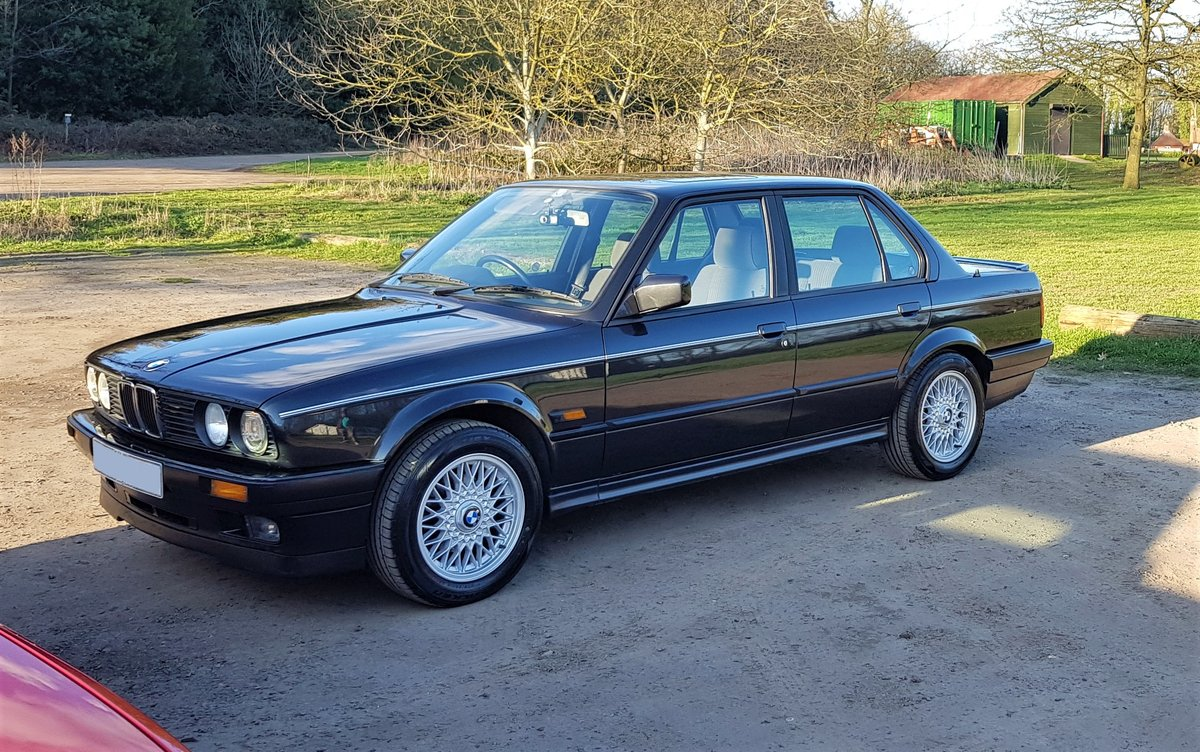 ***SOLD*** 1991 E30 'H' BMW 325i SE 4dr Auto For Sale (picture 2 of 6)