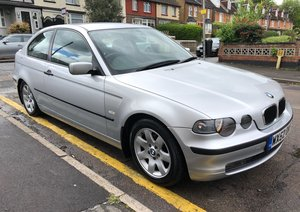 2002 BMW 316ti Compact SE LOW MILEAGE For Sale