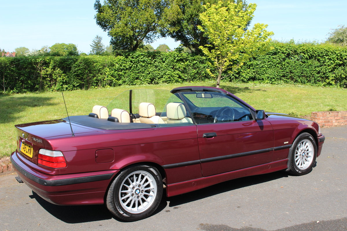 1999 E36 328i Individual Cabriolet For Sale (picture 4 of 6)
