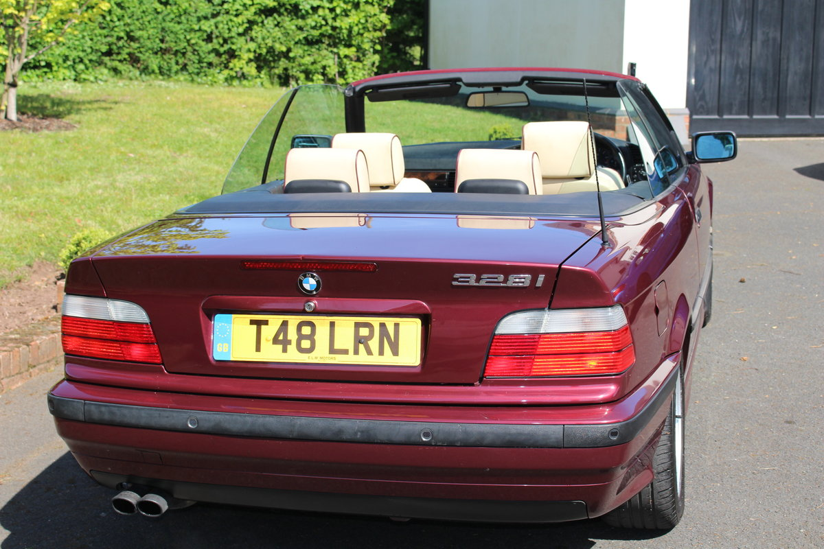 1999 E36 328i Individual Cabriolet For Sale (picture 5 of 6)