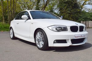 2012/12 BMW 118D M Sport 2 Door Coupé Six Speed in White For Sale