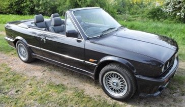 1988 E30 BMW 325i Convertible Motorsport Edition Auto For Sale (picture 1 of 6)