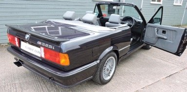 1988 E30 BMW 325i Convertible Motorsport Edition Auto For Sale (picture 2 of 6)