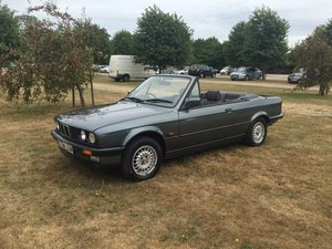 1988 E30 320 Convertible with only one previous owner!