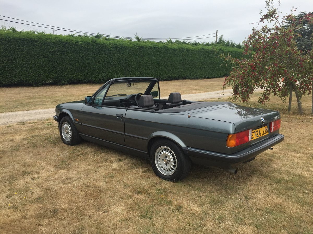 1988 E30 320 Convertible with only one previous owner! For Sale (picture 2 of 6)