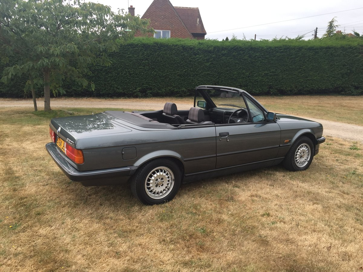 1988 E30 320 Convertible with only one previous owner! For Sale (picture 3 of 6)