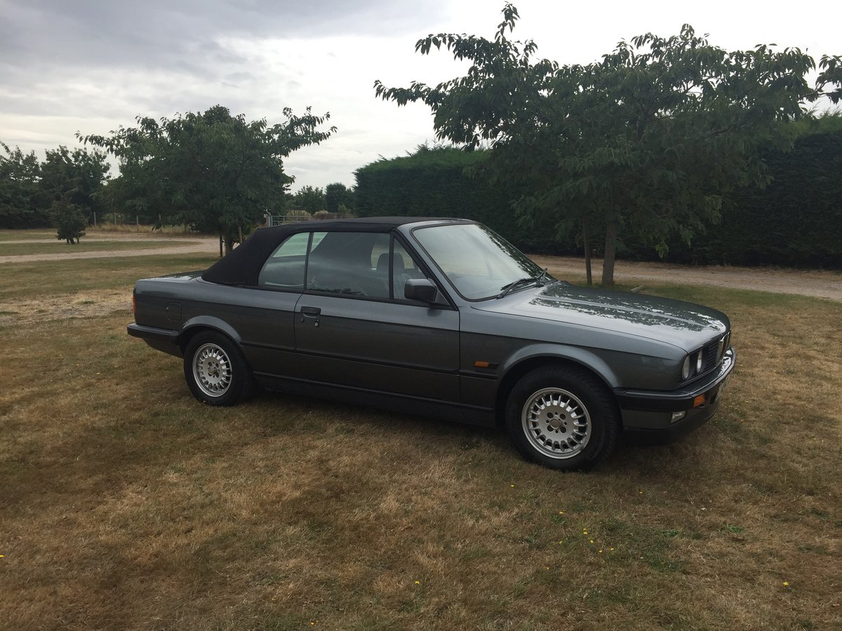 1988 E30 320 Convertible with only one previous owner! For Sale (picture 5 of 6)