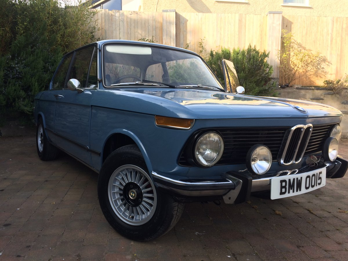 1975 BMW 1502 NUMBER 15 BUILD For Sale (picture 1 of 6)