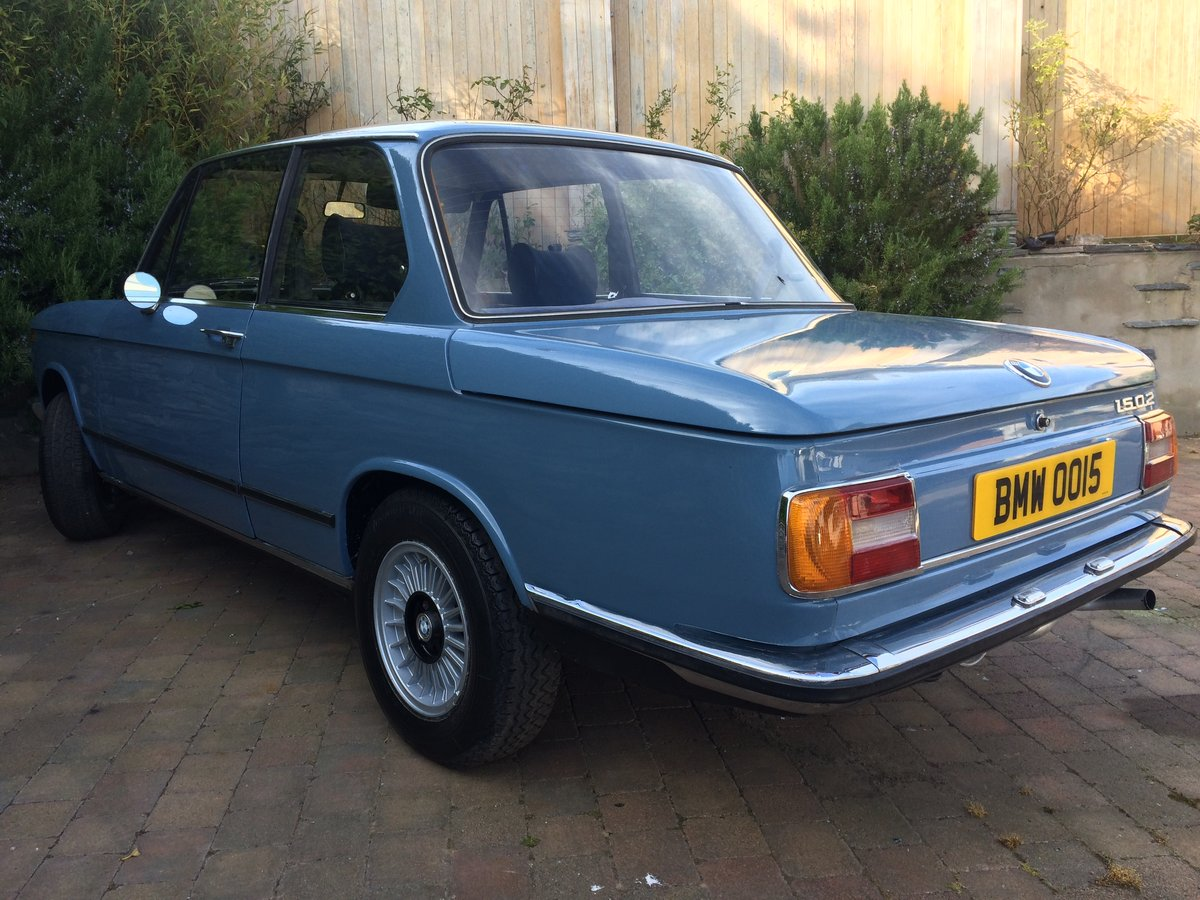 1975 BMW 1502 NUMBER 15 BUILD For Sale (picture 4 of 6)