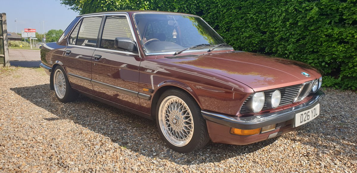 1986 Outstanding BMW E28 For Sale (picture 2 of 6)