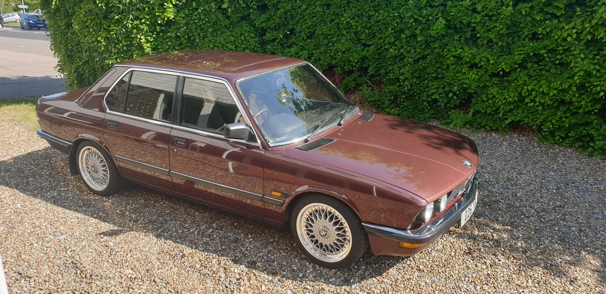 1986 Outstanding BMW E28 For Sale (picture 3 of 6)