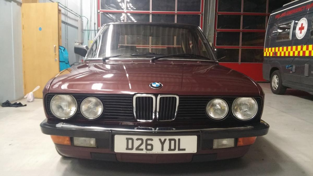 1986 Outstanding BMW E28 For Sale (picture 5 of 6)