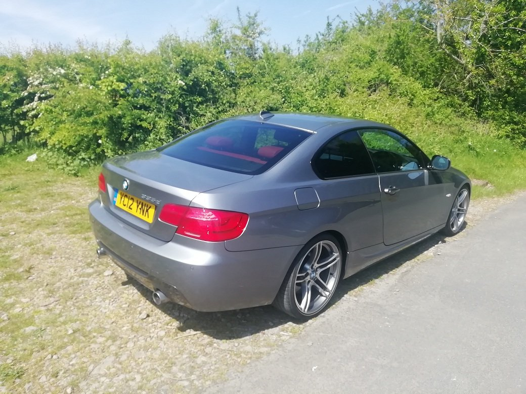 BMW 335d M-sport, 2012, Low miles, FSH, Reduced. For Sale (picture 1 of 6)
