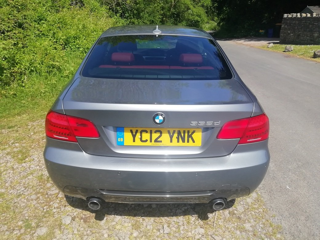 BMW 335d M-sport, 2012, Low miles, FSH, Reduced. For Sale (picture 3 of 6)