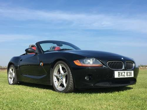 2003 BMW Z4 2.2i SE at Morris Leslie Auction 25th May SOLD by Auction (picture 1 of 6)