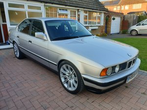 BMW E34 520I 24V LHD 1993 MANUAL 85000MILES UK REG