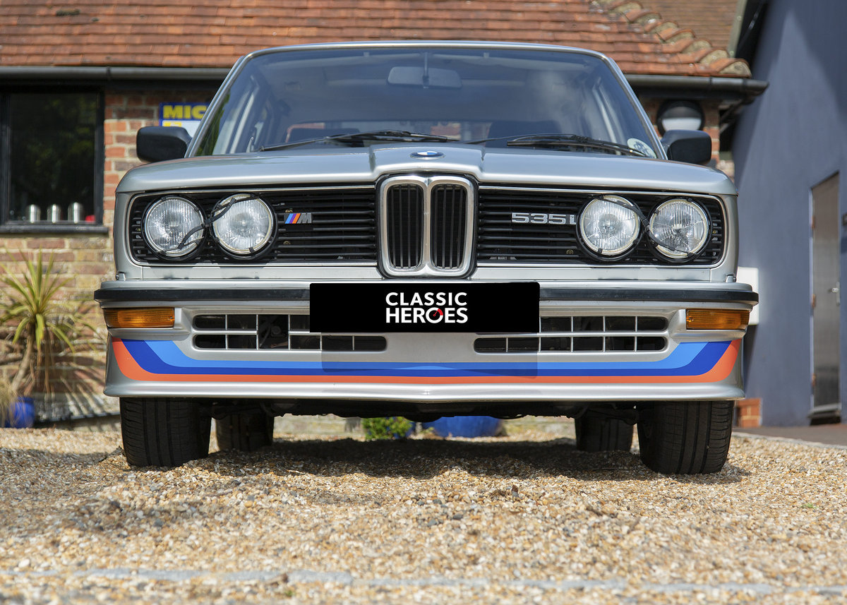 1981 BMW E12 M535 SOLD (picture 1 of 6)
