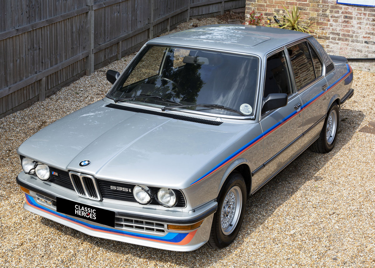 1981 BMW E12 M535 SOLD (picture 3 of 6)