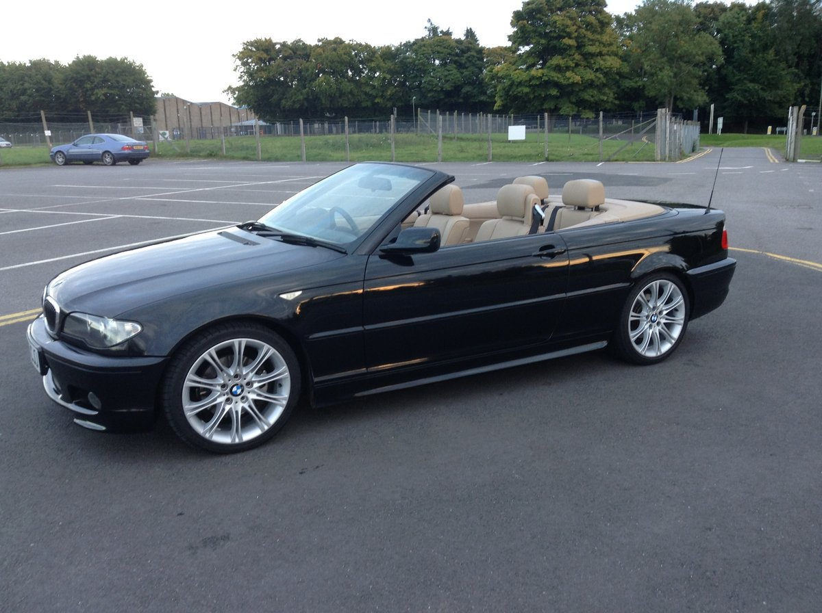 2005 BMW 3 Series Sport Cabriolet  58,000 genuine miles SOLD (picture 2 of 4)