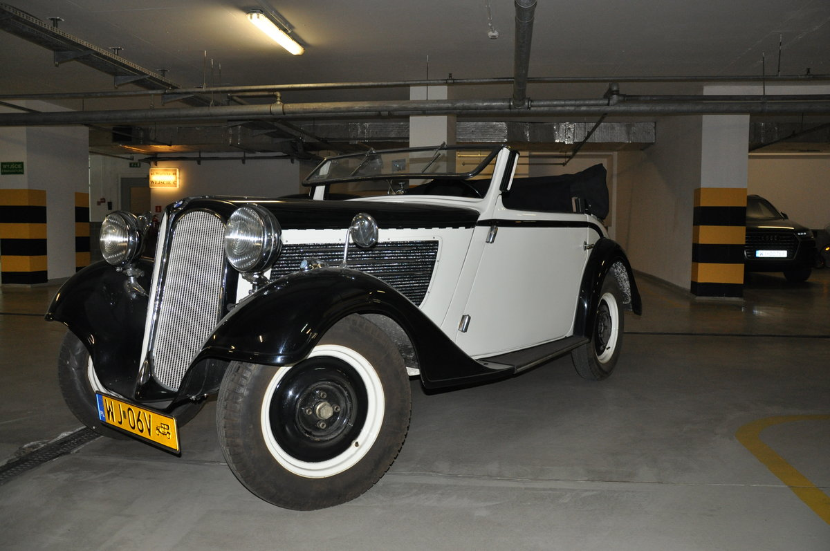 BMW 319 sport convertible 1934 For Sale (picture 1 of 6)